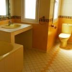 salle de bains d'une villa sur tetouan