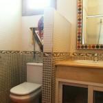 toilette d'une maison