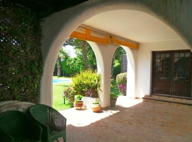 porche d'une maison