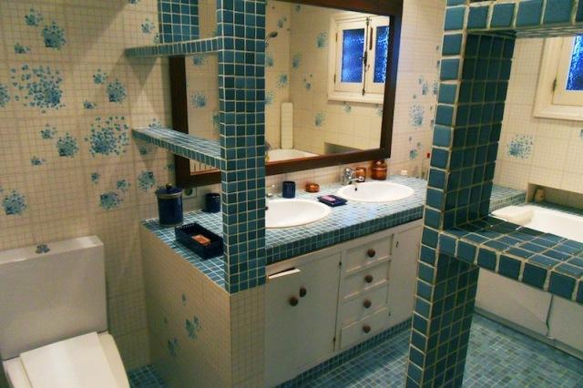 toilette de style moderne