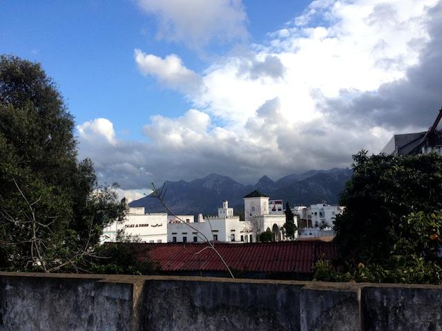 vue panoramique d'un riad