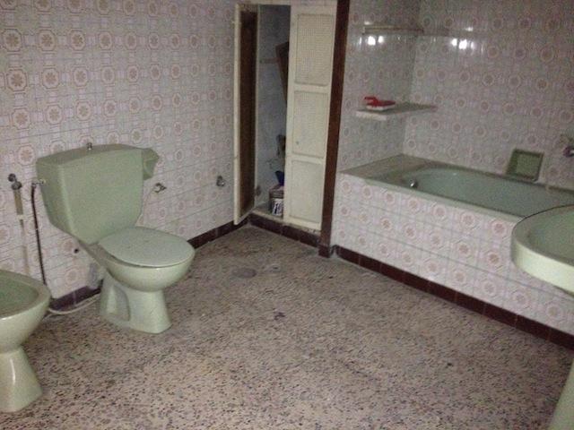 salle de bains d'un riad