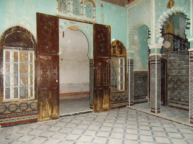 cour centrale du Riad