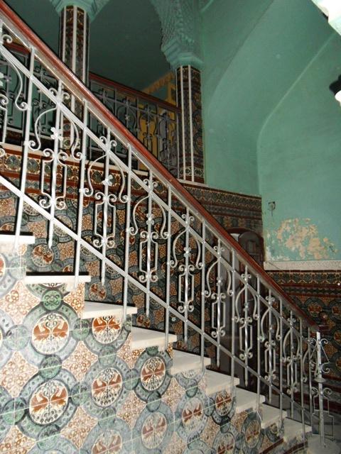 les escaliers de riad