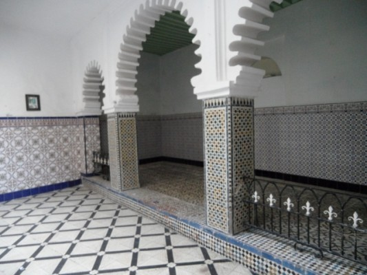 salon tradicionelle de la medina de tetouan