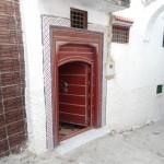 porte principal du riad