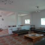 Salon villa sur la montagne