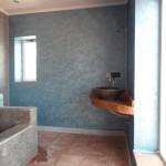 salle de bain villa sur la montagne