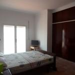 chambre à coucher villa sur la montagne