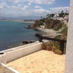 vue de la villa a la mer