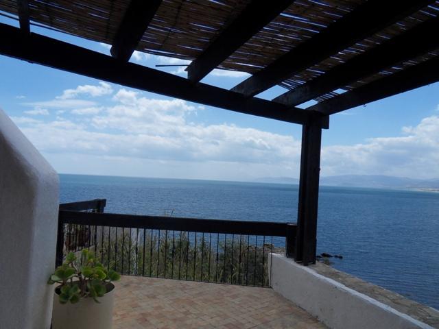 Terrasse vue a la mer