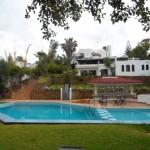 vue complète du villa à vendre