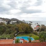 vue mer et montagne du grande villa à vendre