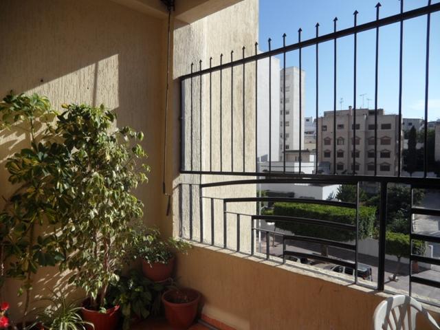 Balcon appartement à vendre avenue FAR
