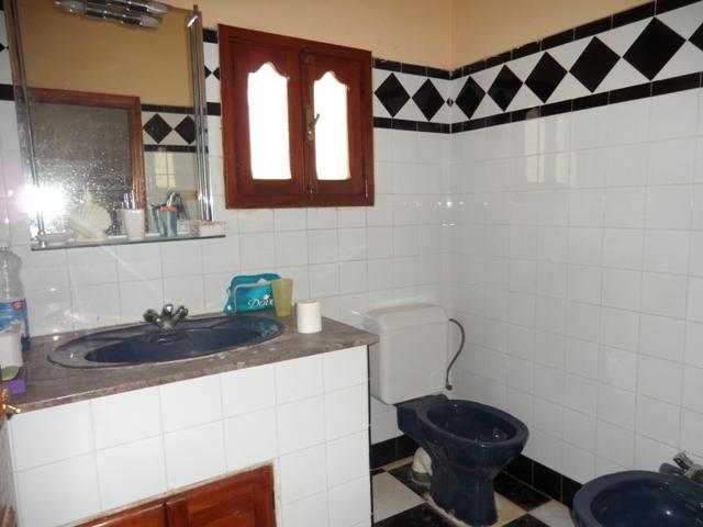 salle de bain villa à vendre Amssa