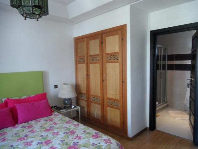 Chambre à coucher villa vendre marina smir