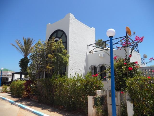 vue extérieur villa vendre marina smir