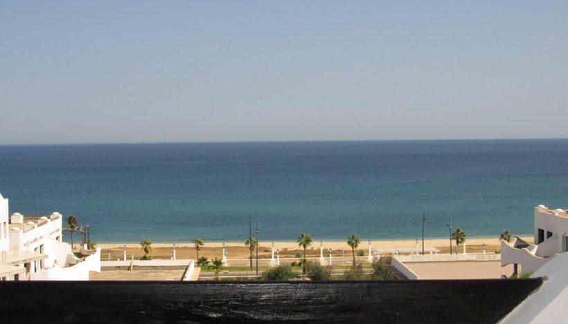 vue sur la mer de l'appartement a vendre
