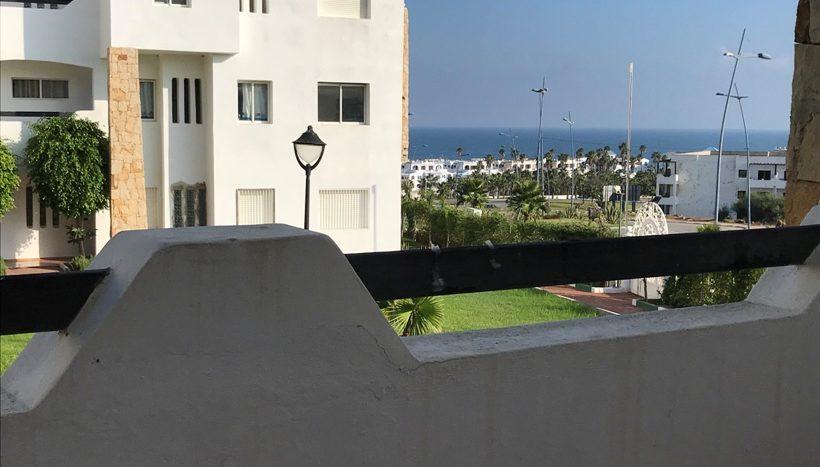 terrasse de l'appartement a vendre