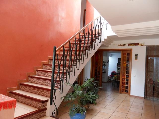 escaliers d'une maison
