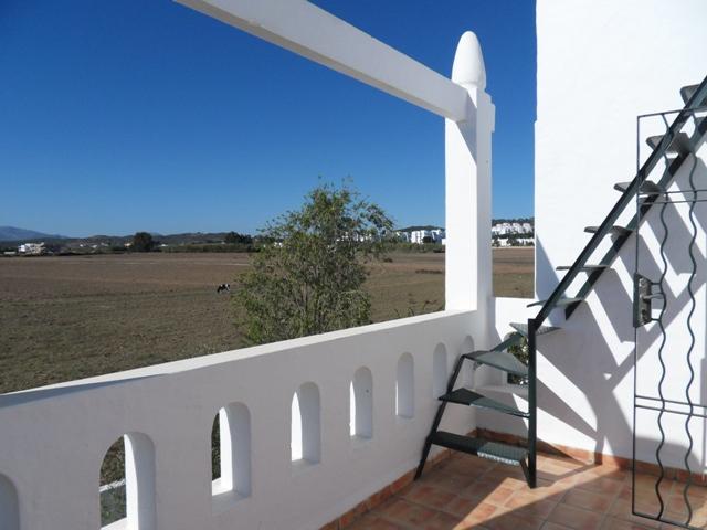 villa vue sur jardin