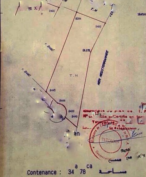 Plan Terrain pied dans l'eau Kudia taifor Cabo Negro